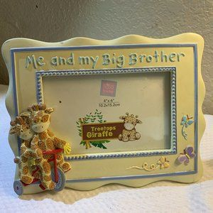 """Table Top Picture Frame """" Me and My Big Brother"""""""